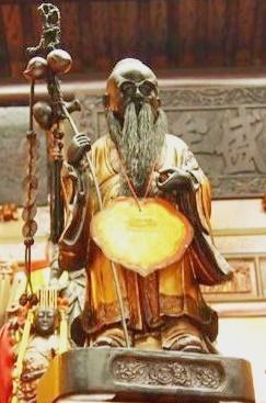 迪化街霞海廟,月下老人